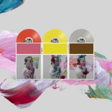 The National: I Am Easy To Find (Limited-Deluxe-Edition) (Yellow/Red/Grey Vinyl), 3 LPs