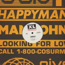 """Jungle: Happy Man/House In LA, Single 12"""""""