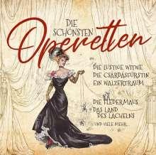 Die schönsten Operetten, 2 CDs