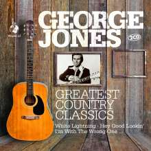 George Jones (1931-2013): The World Of Greatest Country Classics, 2 CDs