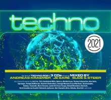 Techno 2021, 3 CDs