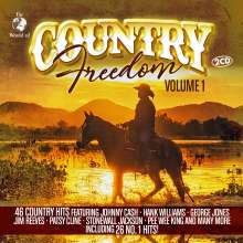 Country Freedom Vol.1, 2 CDs