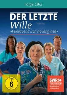 Der letzte Wille Folge 1 & 2, DVD