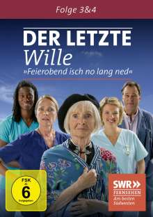 Der letzte Wille Folge 3 & 4, DVD