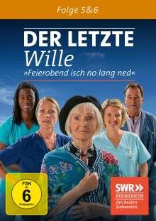 Der letzte Wille Folge 5 & 6, DVD