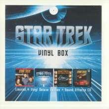 Filmmusik: Star Trek Vinyl Box (Limited Deluxe Edition), 4 LPs und 1 CD
