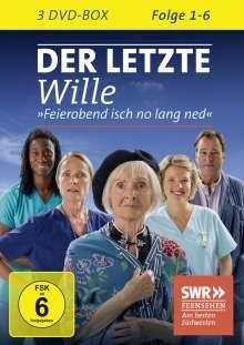 Der letzte Wille Folge 1-6, 3 DVDs