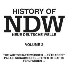 History Of NDW Vol.2, CD