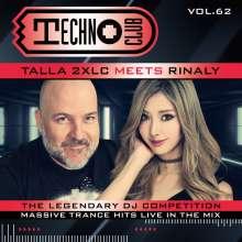 Techno Club Vol.62 (Limited Deluxe Edition), 2 CDs und 1 Merchandise