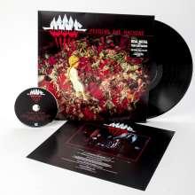 Wolf: Feeding The Machine (180g), 1 LP und 1 CD