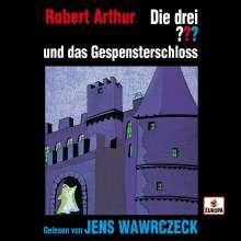 Jens Wawrczeck liest... Die drei ??? und das Gespensterschloß, 4 CDs