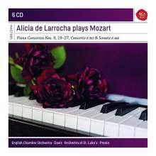 Wolfgang Amadeus Mozart (1756-1791): Klavierkonzerte Nr.9,10,19-27, 6 CDs