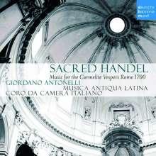 Sacred Handel - Music for the Carmelitan Vespers, CD