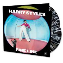 Harry Styles: Fine Line (Limited Edition) (Black & White Splattered Vinyl), 2 LPs