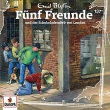 Fünf Freunde (137) - und der Schokoladendieb von London, CD