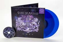 Sons Of Apollo: MMXX (Limited Edition) (Translucent Blue Vinyl) (Exklusiv für jpc!), 3 LPs
