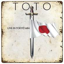 Toto: Live In Tokyo 1980 (Red Vinyl), LP