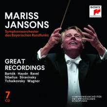 Mariss Jansons & das Symphonieorchester des BR - Great Recordings (Sony), 7 CDs