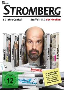 Stromberg Staffel 1-5 & Kinofilm, 11 DVDs