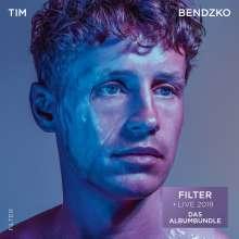 Tim Bendzko: FILTER + Live 2019: Das Albumbundle, 3 CDs