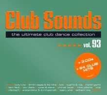 Club Sounds Vol. 93, 3 CDs