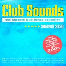 Club Sounds Summer 2020, 3 CDs