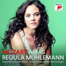 Regula Mühlemann - Mozart Arias II, CD