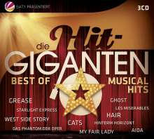 Musical: Die Hit-Giganten: Best Of Musical Hits, 3 CDs