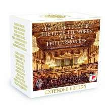 Neujahrskonzert der Wiener Philharmoniker - Die gesamten Werke, 26 CDs