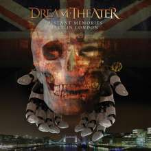 Dream Theater: Distant Memories: Live in London, 3 CDs und 2 DVDs