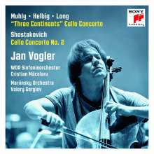 Jan Vogler - Three Continents, CD