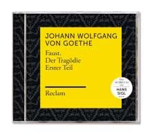 Johann Wolfgang von Goethe: Faust. Der Tragödie Erster Teil (Reclam Hörbuch), MP3-CD