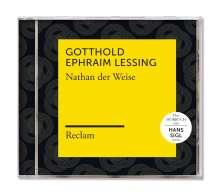 Gotthold Ephraim Lessing: Nathan der Weise (Reclam Hörbuch), MP3-CD
