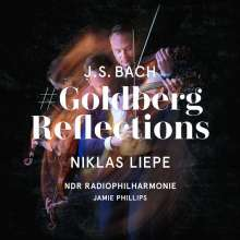 "Johann Sebastian Bach (1685-1750): Goldberg-Variationen BWV 988 für Violine & Streicher - ""Goldberg Reflections"", 2 CDs"