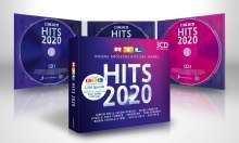 RTL Hits 2020, 3 CDs