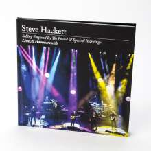 Steve Hackett (geb. 1950): Selling England By The Pound & Spectral Mornings: Live At Hammersmith (Limited Artbook Edition), 2 CDs, 1 DVD und 1 Blu-ray Disc