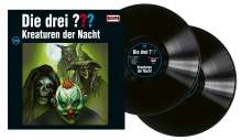 Die drei ???: Die drei ??? (Folge 209) - Kreaturen der Nacht (180g) (Limited Edition), 2 LPs