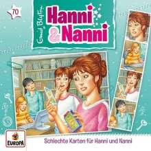 Folge 70: Schlechte Karten für Hanni und Nanni, CD