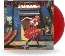 Cyndi Lauper: She's So Unusual (Red Vinyl), LP
