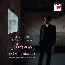 Valer Sabadus - Arias (Bach & Telemann), CD