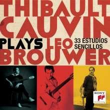 Leo Brouwer (geb. 1939): 30 Estudios Sencillos, CD