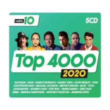 Radio 10 Top 4000 (2020), 5 CDs