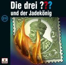 Die drei ???: Die drei ??? (Folge 211) - und der Jadekönig (Limited Edition), 2 LPs