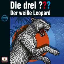 Die drei ??? (Folge 212) - Der weiße Leopard, CD