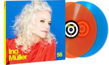 Ina Müller: 55 (180g) (Limited Edition) (Colored Vinyl) (45 RPM), 2 LPs
