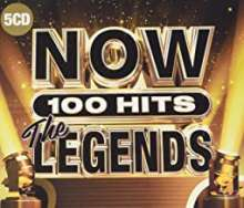 Now 100 Hits The Legends, 5 CDs