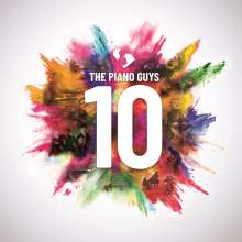 The Piano Guys: 10 (Limited Edition), 2 CDs und 1 DVD