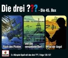045/3er Box (Folgen 135,136,137), 3 CDs