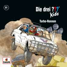 Boris Pfeiffer: Die drei ??? Kids 81: Turbo-Rennen, CD