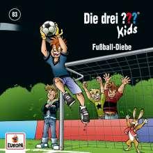 Boris Pfeiffer: Die drei ??? Kids 83. Fußball-Diebe, CD